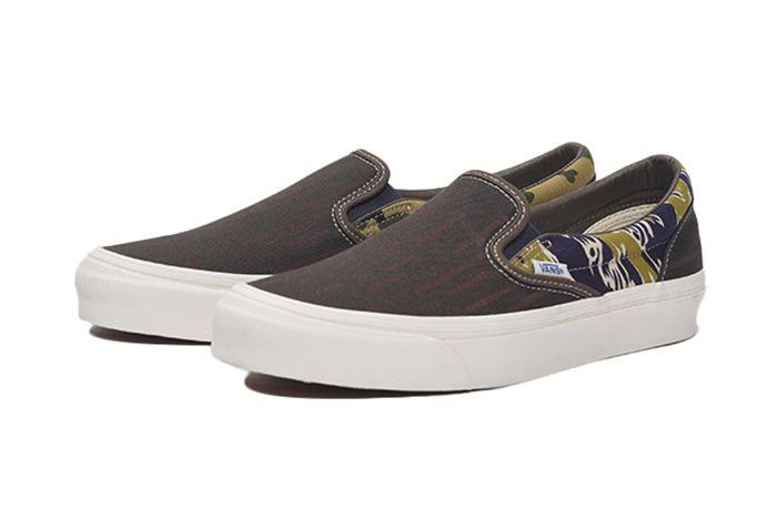 Vans Camo Slip On Quarter