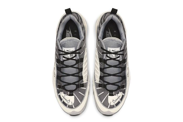 Nike Air Max 98 Se Inside Out Wolf Grey Gunsmoke Black Phantom Release Top