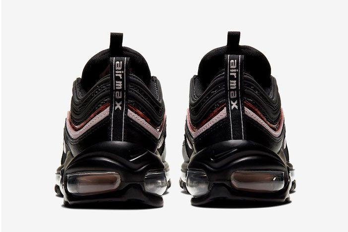 Nike Air Max 97 Woodgrain Cu4751 001 Heel Shot