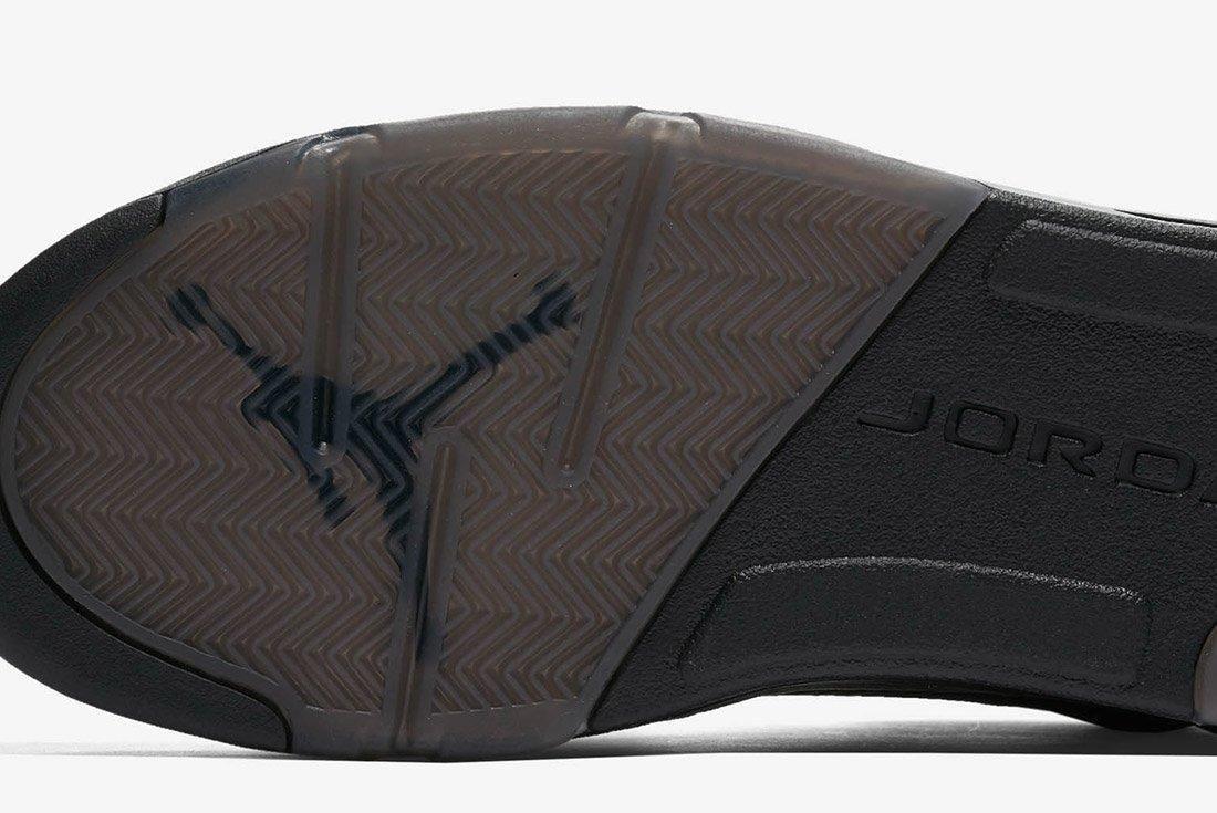 Air Jordan 5 Premium Triple Black Leather 8