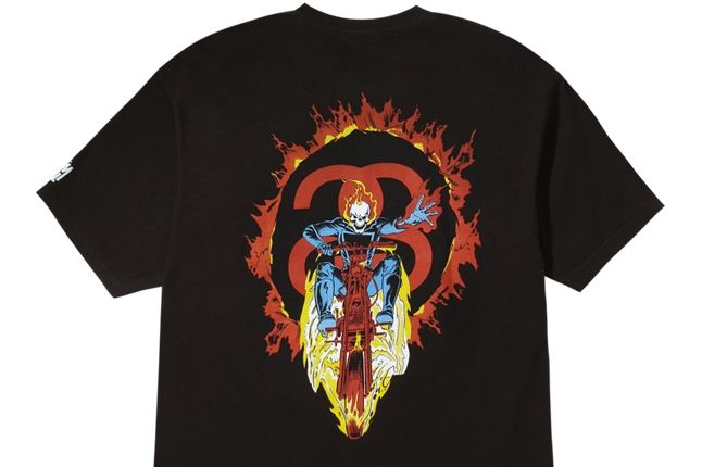 Stussy Marvel Ghost Rider 2 1