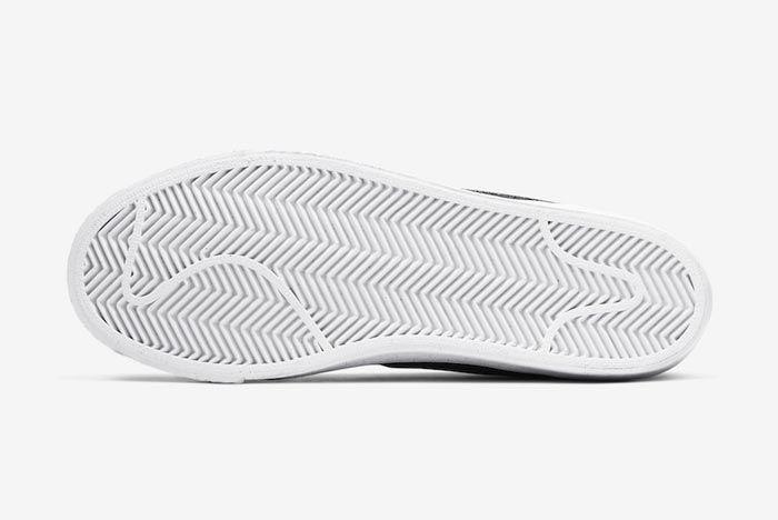 Nike Sb Blazer Black Grey Outsole