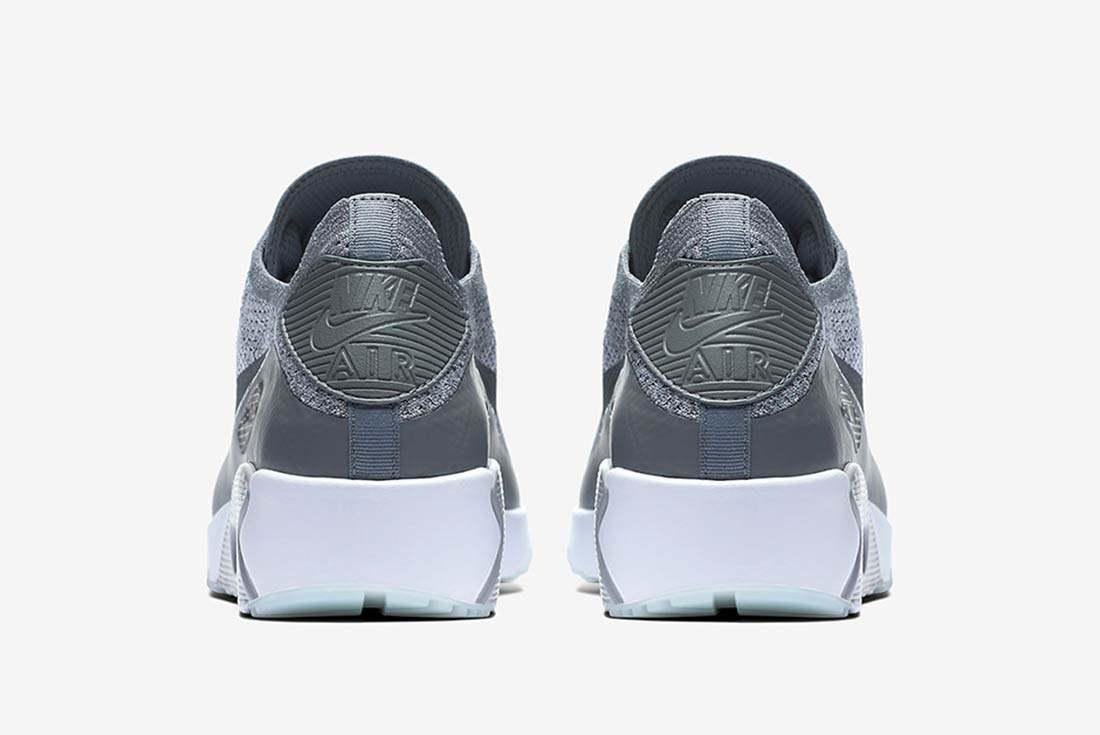 Nike Air Max 90 Ultra 2 0 Flyknit Grey 4