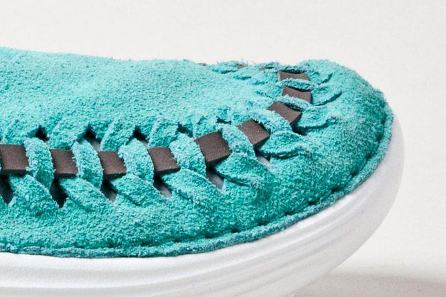 Nike Solarsoft Moccasin Teal Toe 1