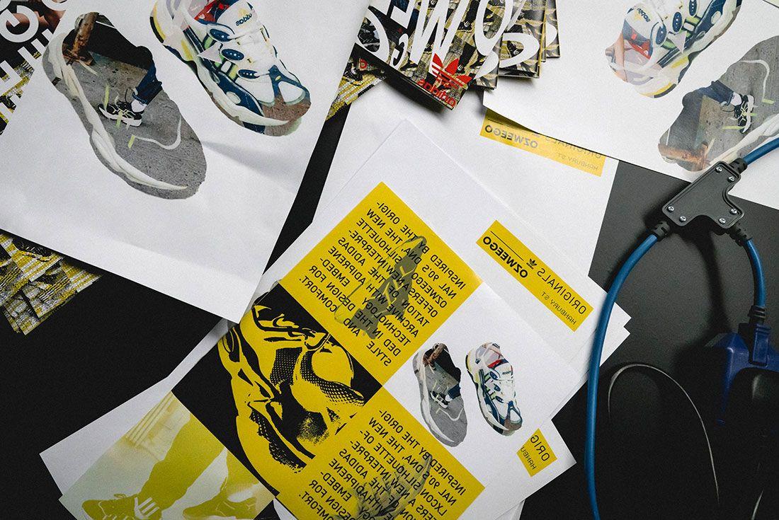 Adidas Ozweego 2019 Sneaker Freaker London Launch Crowd Shot Sneaker Display8