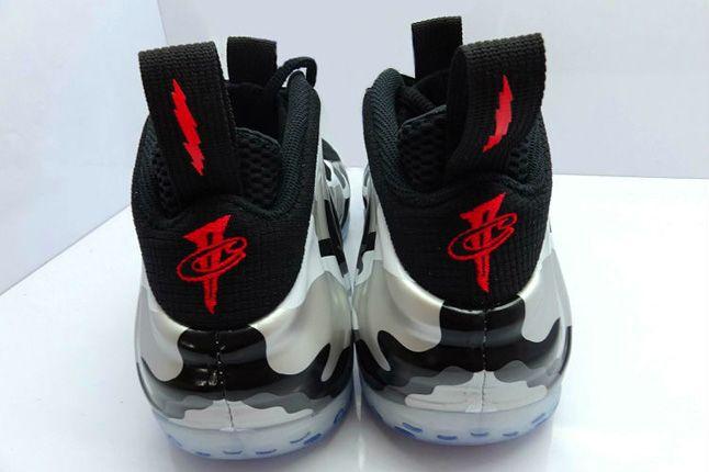 Nike Air Foamposite One Camo Heels Pair 1
