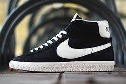 Thumb Nike Blazer Mid Premium Vintage Black White 3