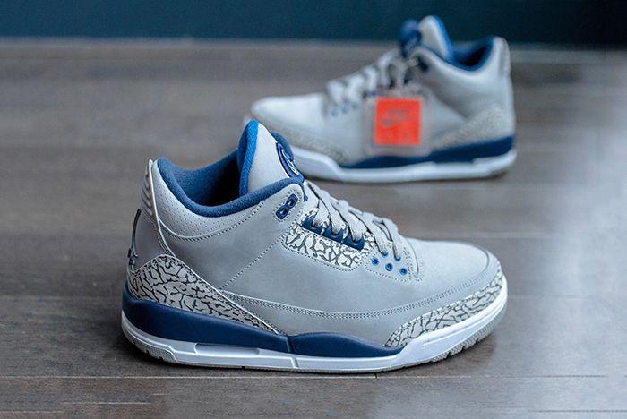 Air Jordan 3 Georgetown Hoyas Pe 101 Sneaker Freaker