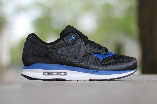 Nike Air Max Lunar1 Deluxe Black Gym Blue 3