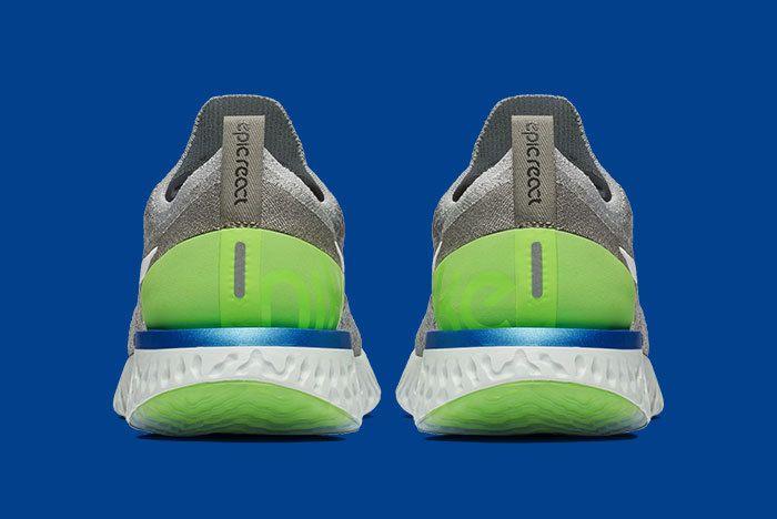 Nike Epic React Grey Scream Green 4