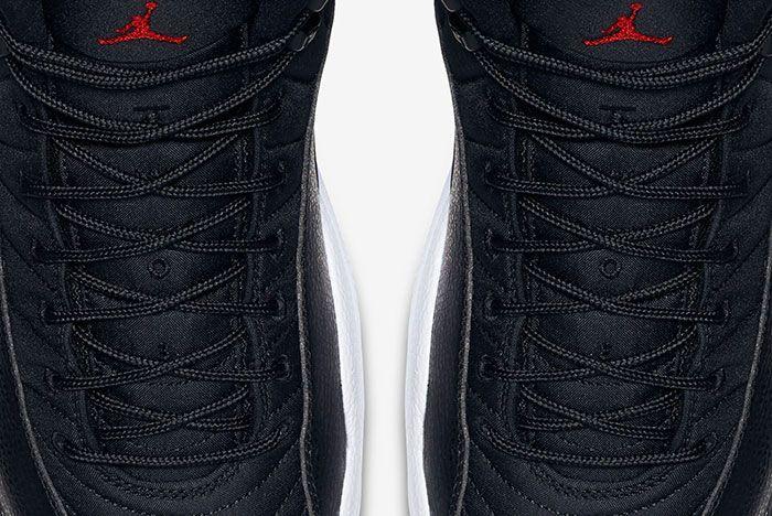 Air Jordan 12 Black And White 9