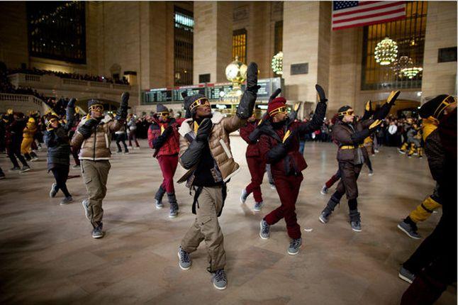 Moncler Native Flashmob 6 1
