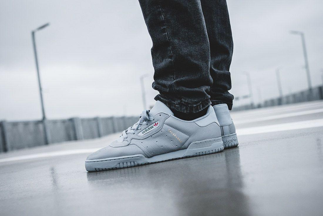 Adidas Yeezy Powerphase Grey On Foot Sneaker Freaker 5