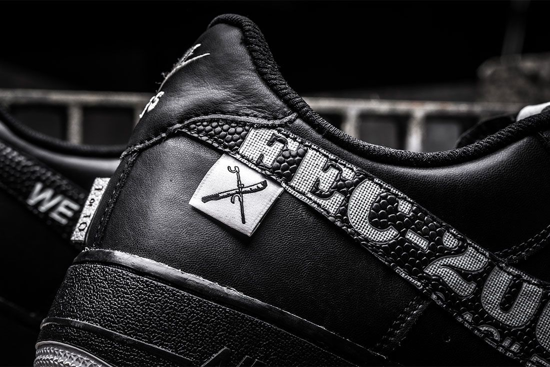 Bespokeind X Saint Side Air Force 1 Custom Close Up10