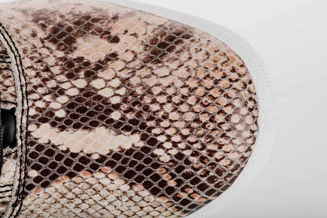 Adidas Mc Low Snake Skin Natural Toe Detail 1