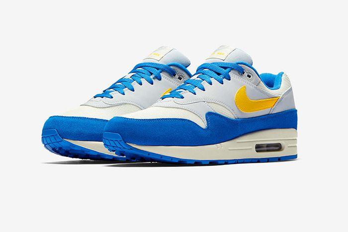 Nike Air Max 1 Amarillo Signal Blue 2
