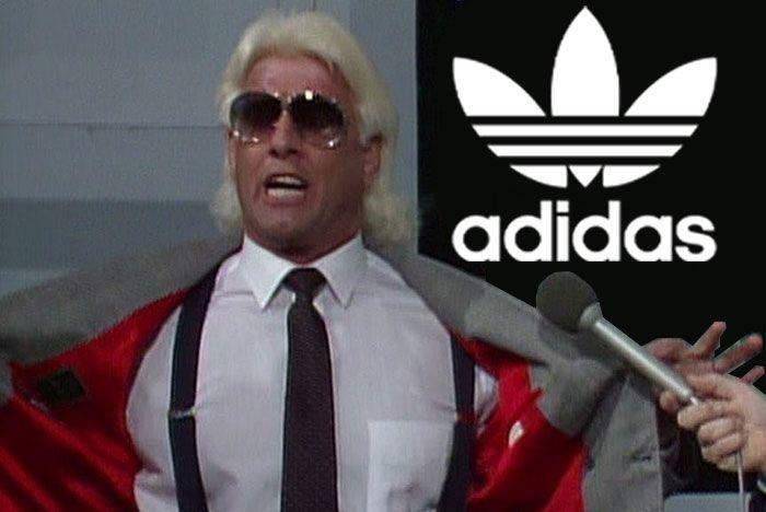 Ric Flair Adidas Header