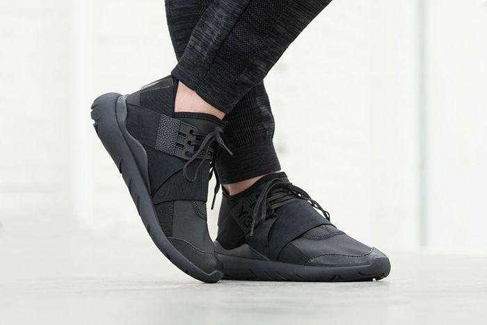 Adidas Y 3 Qasa Elle Lace Black Carbon