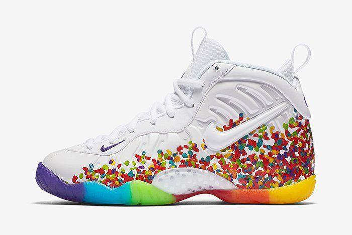 Nike Little Posite Pro Fruity Pebbles2 1
