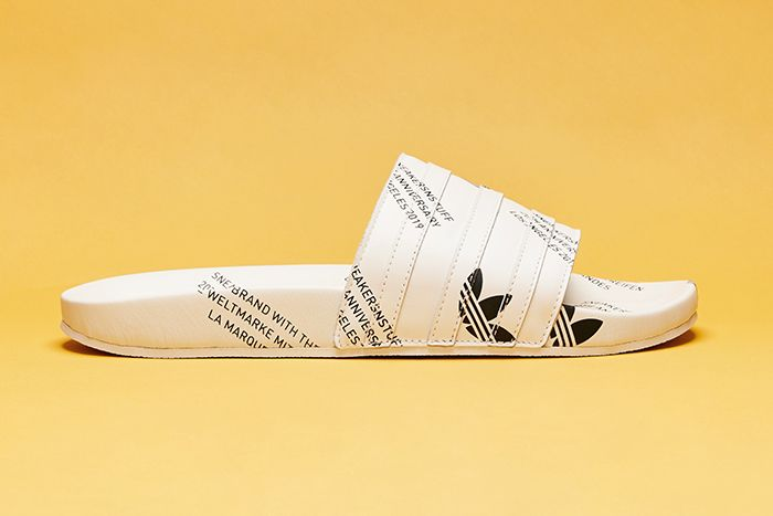Sneakersnstuff Adidas Consortium 20Th Anniversary Adilette Release Date Lateral