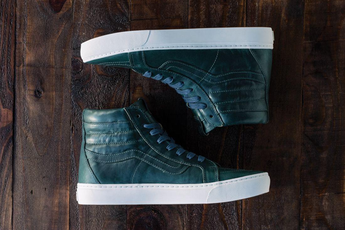 Horween Leather X Vans Vault Collection15