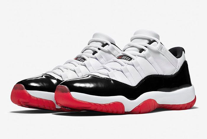 Air Jordan 11 Low True Red Av2187 160