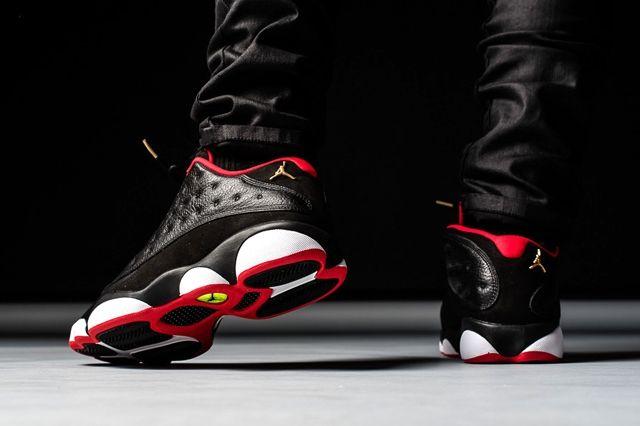 Air Jordan 13 Low Bred 4