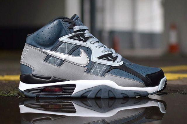 Nike Air Trainer Sc Grey Black Light 7