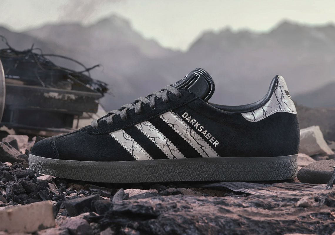 Star Wars x adidas Gazelle Darksaber