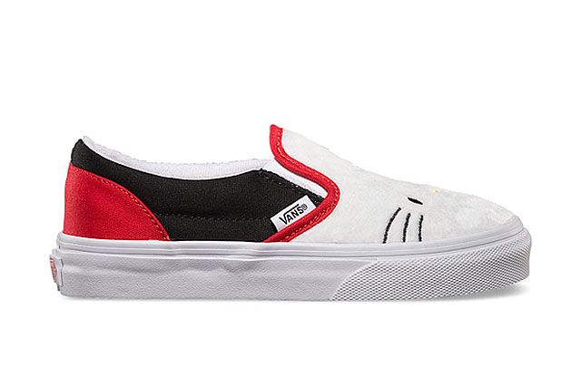 Hello Kitty X Vans Summer 2014 Collection Slip On 2