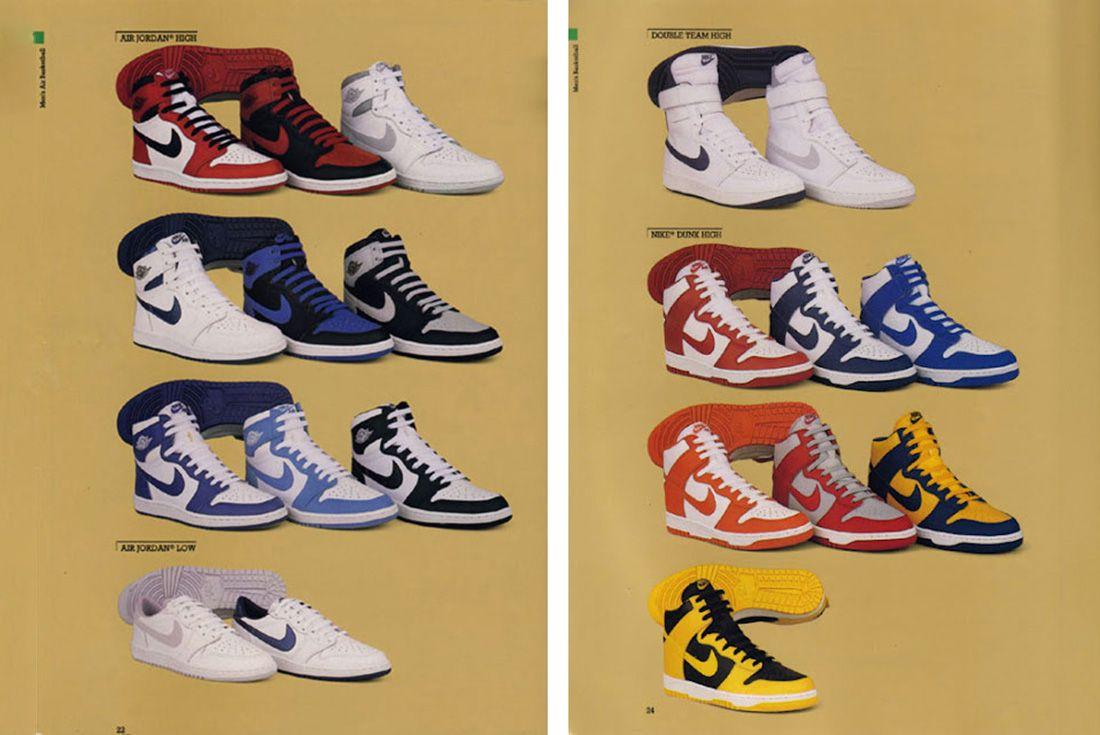 Nike 1985 Basketball Catalogue
