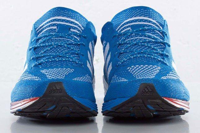 Adidas Blue Knit Sneaker 1