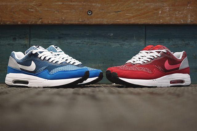 Nike Air Max 1 Jacquard Gym Red 3