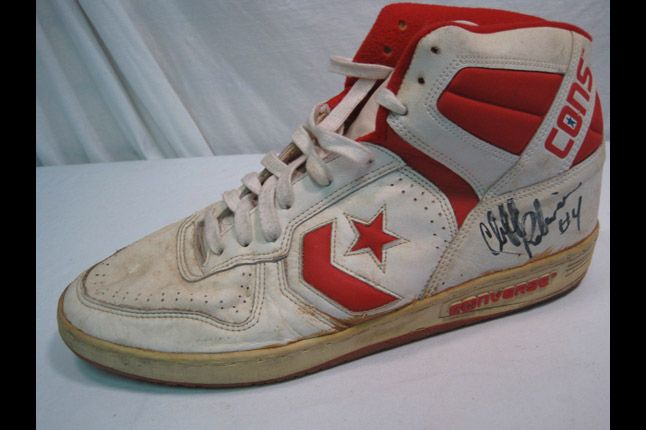 Sf Best Of The Bay Converse Signed Clifford Robinson 02 1