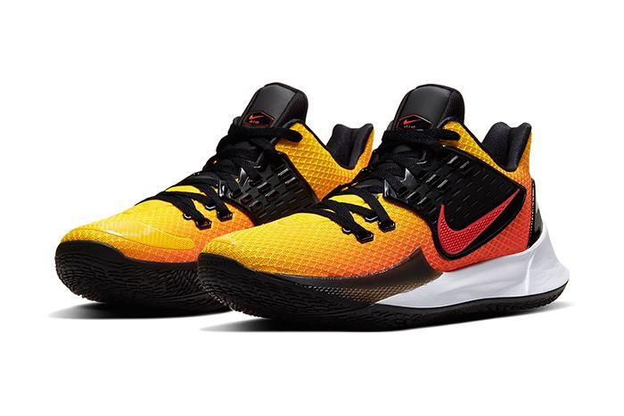 Nike Kyrie Low 2 Tn Sunset Av6338 800 Release Date Pair