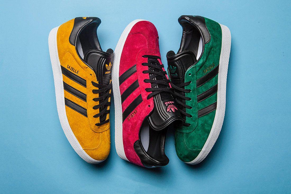 New Colourways Of The Adidas Gazelle