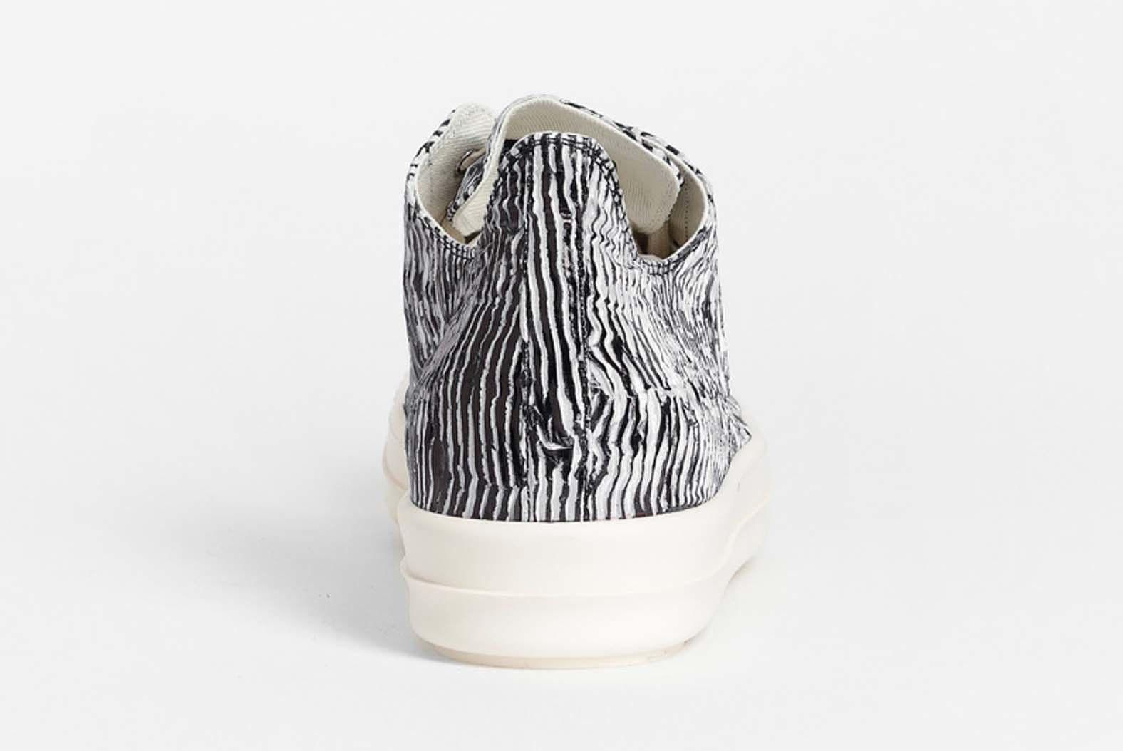 Rick Owens Drkshdw Zebra Trainer Low Release 003 Sneaker Freaker