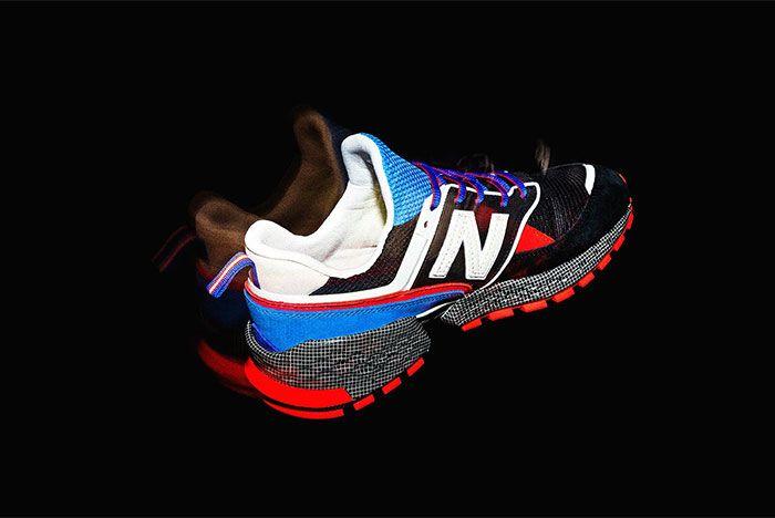 Mita Sneakers Whiz Limited New Balance Ms574 V2 Heel Angle Shot 7