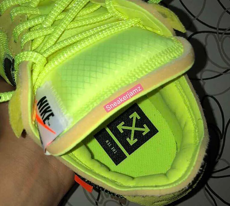 Off White Nike Air Force 1 Volt 4