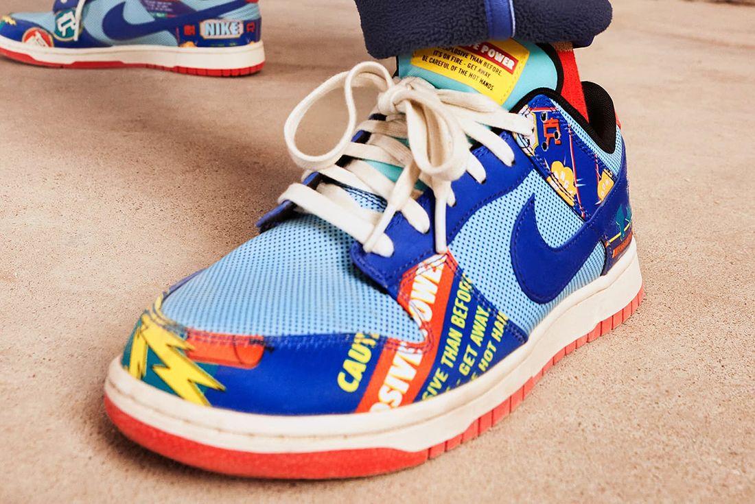 Nike Dunk low Firecracker
