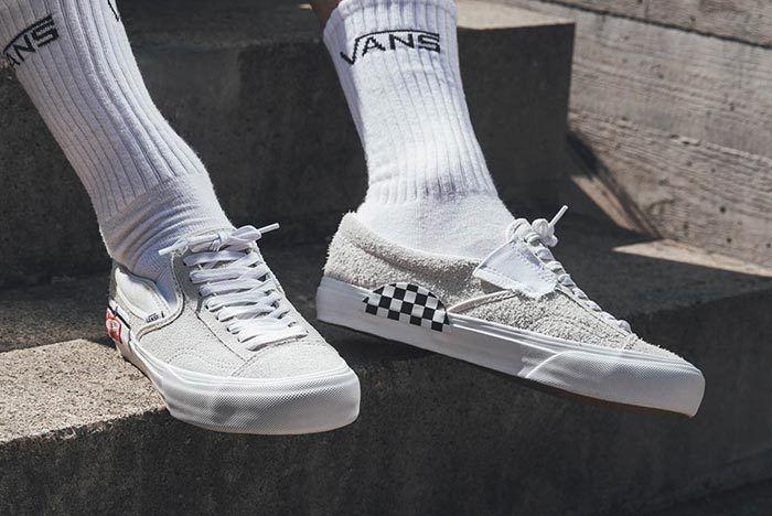 Vans Slip On Deconstructed White 1