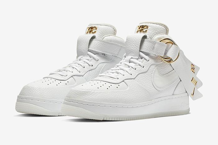 Victor Cruz Nike Air Force 1 Mid Snkrs Release 1
