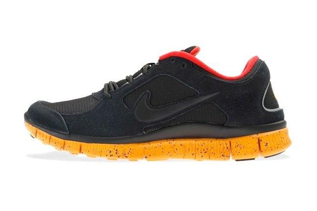 Nike Free Run 3 University Red Canyon Gold Side Profile 1 1
