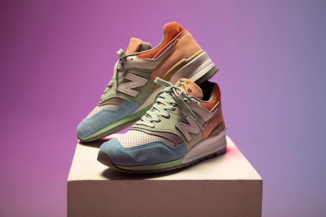 Todd Snyder New Balance 997 Love Detail