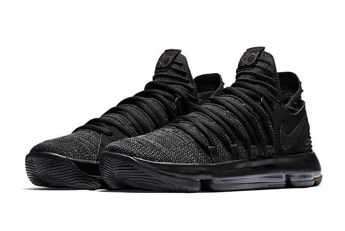 Nike Kd 10 Triple Black 2
