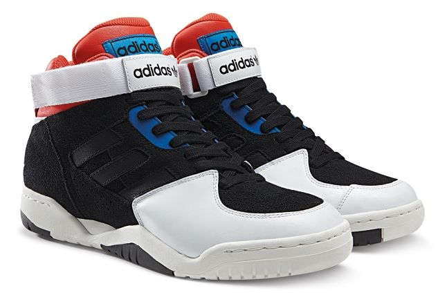 Adidas Originals Enforcer Mid Orange White 1