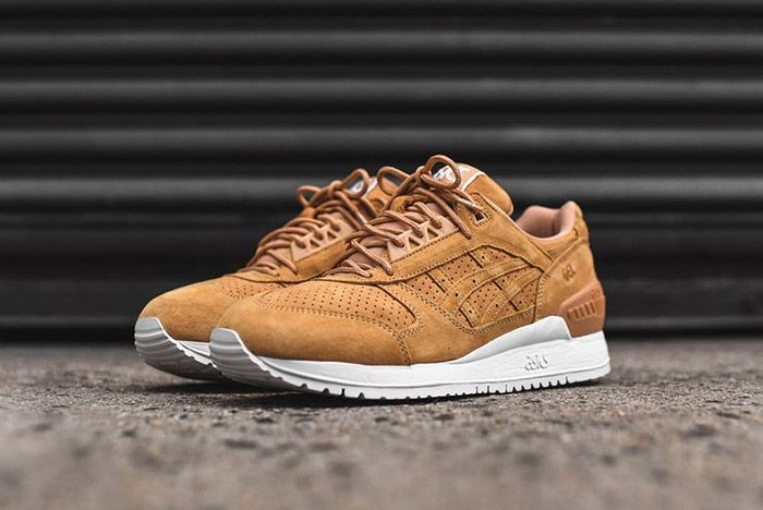 Asics Gel Respector Tan Clay Suede 4