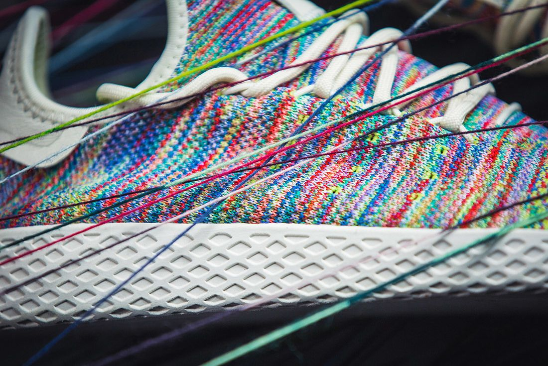Adidas Pharrell Williams Tennis Hu Rainbow 6