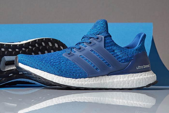 Adidas Ultraboost Mystery Blue Feature