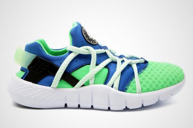Nike Huarache Nm Scream Green 01